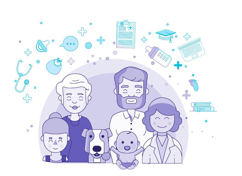 consulta de pediatria familiar