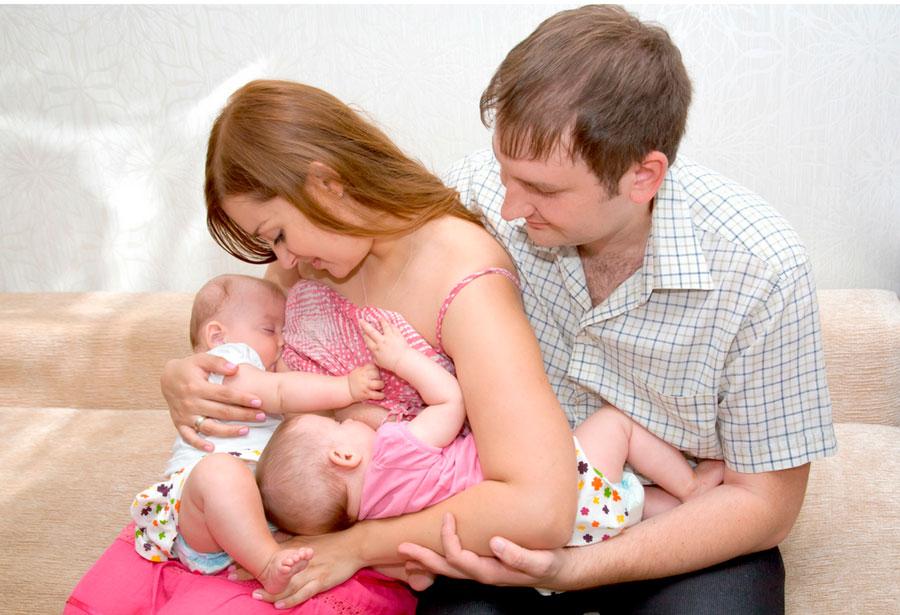 La importancia del padre en la lactancia materna